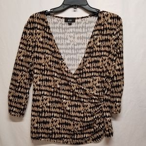 AGB open neck, Large ladies top